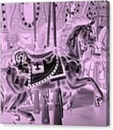 Pink Horse Canvas Print