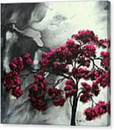 Pink Passion Original Painting Madart Canvas Print