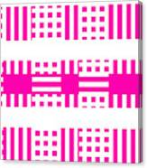Pink Patterns Canvas Print