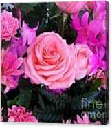 Pink Pink Love Is Pink Canvas Print