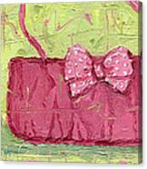 Pink Purse Party Canvas Print