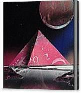 'pink Pyramid' Canvas Print