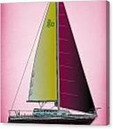 Pink Retru Canvas Print