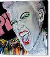 Pink Returns Canvas Print