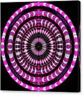 Pink Rings Canvas Print