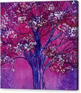 Pink Spring Awakening Canvas Print