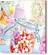 Pink Sweets Canvas Print