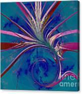 Pink Yucca Twist Canvas Print