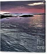 Pinkyblue Horizon 2 Canvas Print