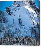 Pinnacle Peak Winter Glory Canvas Print