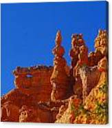 Pinnacles Of Red Rock Canvas Print