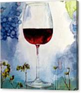 Pinot From Vine To Glass II Canvas Print