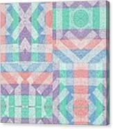 Pinwheel Dreams 0-6 Canvas Print