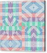 Pinwheel Dreams 0-9 Canvas Print