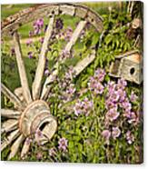 Pioneer Blossoms - Casper Wyoming Canvas Print