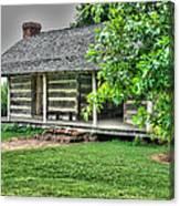 Pioneer Cabin 21 Canvas Print