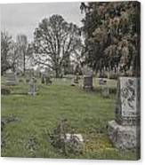 Pioneer Resting Place Canvas Print
