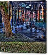 Pioneer Square In Seattle Canvas Print