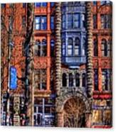 Pioneer Square No.1 Canvas Print