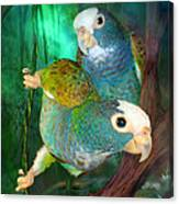 Pionus In Paradise Canvas Print
