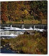 Pipe Creek Falls Canvas Print