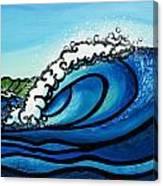 Pipeline Splash Canvas Print