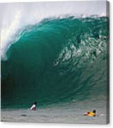 Pipeline Wave Hawaii Canvas Print