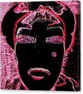 Pippas Pink Beauty Mark Canvas Print