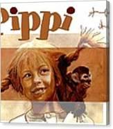 Pippi Longstocking - Fan Version Canvas Print