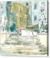 Piran - Square 1st May Canvas Print