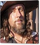 Pirate Captain Canvas Print