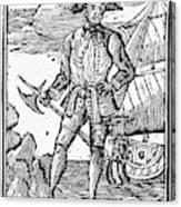 Pirate Edward England Canvas Print