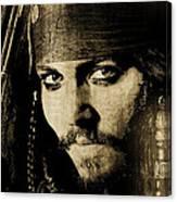 Pirate Life - Sepia Canvas Print