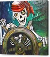 Pirate Moon Canvas Print