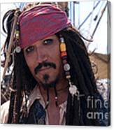 Pirate With Kind Eyes Canvas Print