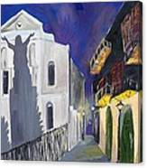 Pirate's Alley French Quarter Painting  Canvas Print