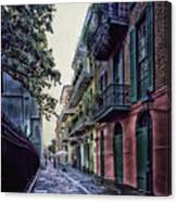 Pirate's Alley In New Orleans Canvas Print