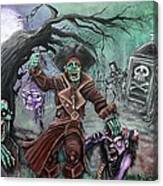Pirate's Graveyard 2 Canvas Print