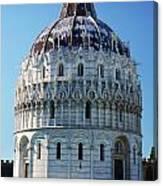 Pisa Basilica Canvas Print