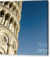 Pisa Tower Canvas Print