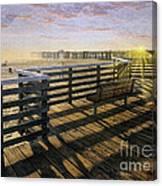 Pismo Boardwalk Canvas Print
