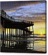 Pismo Sunset View Canvas Print