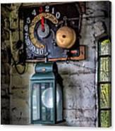 Pit Lift Control Canvas Print