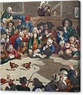 Pit Ticket, 5th November 1759 Canvas Print