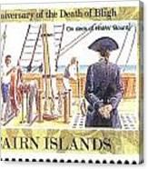 Pitcairn Island Stamp Canvas Print