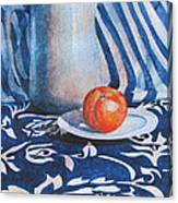 Pitcher With Fruit Canvas Print