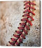 Pitchers Stitches Canvas Print