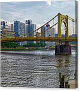 Pittsburgh Clemente Bridge Canvas Print