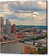 Pittsburgh Pa Canvas Print