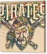 Pittsburgh Pirates Poster Vintage Canvas Print